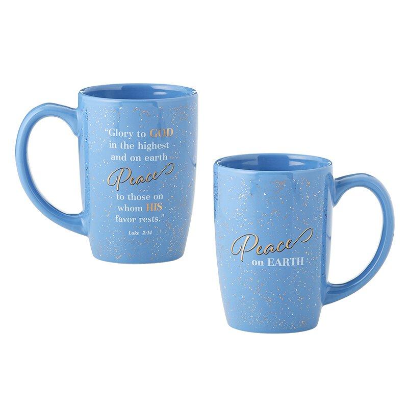 Peace On Earth Gift Mug 6 Pk
