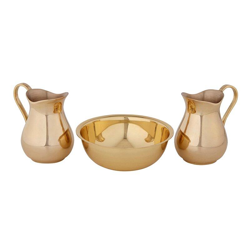 Sudbury Brass™ Cruet Set with Bowl