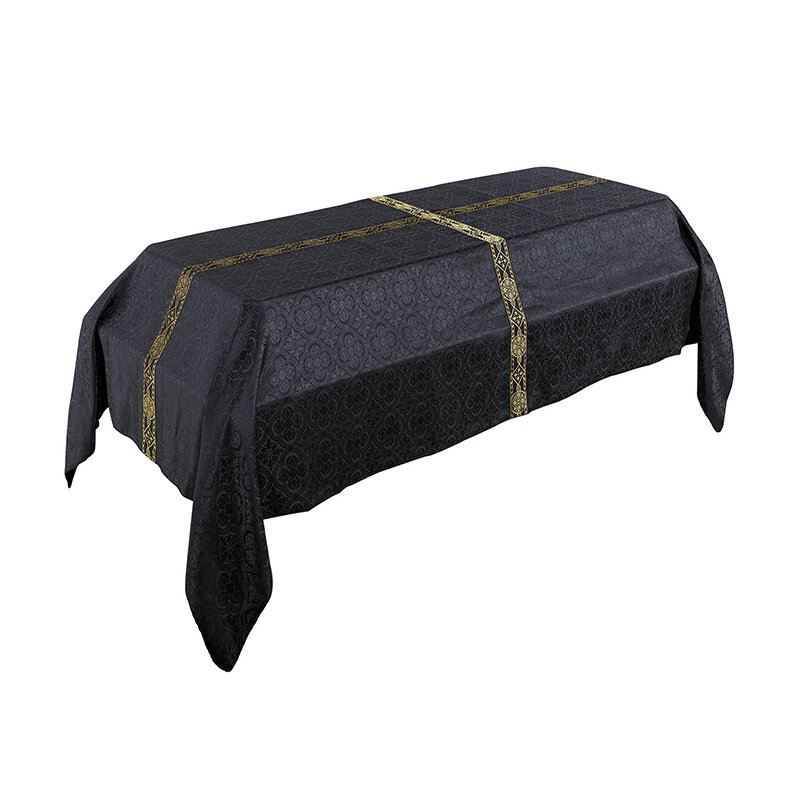 12' Avignon Collection Funeral Pall - Black