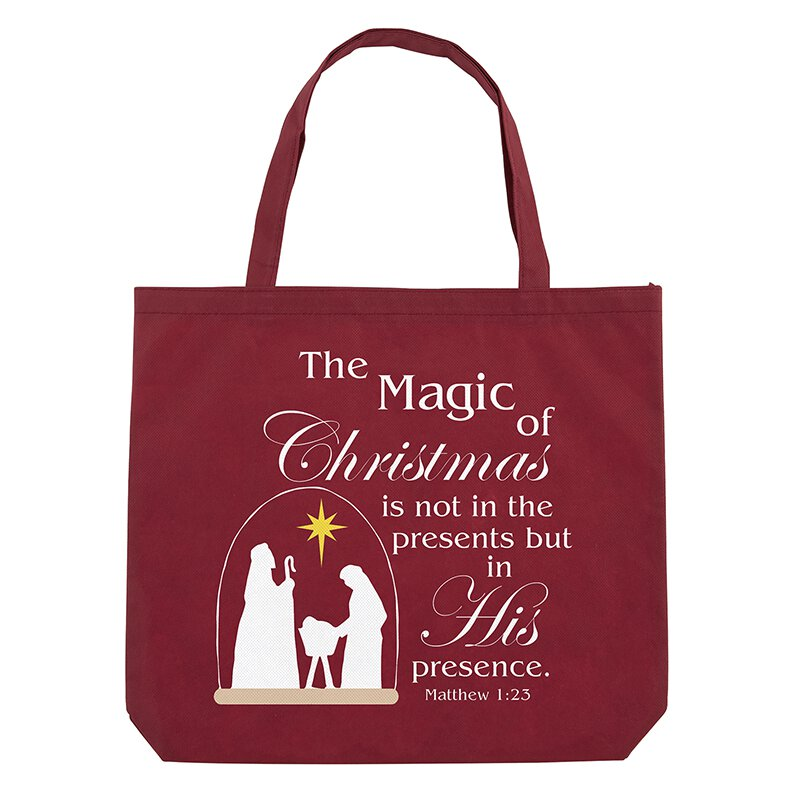 Magic of Christmas Tote Bag - 12/pk