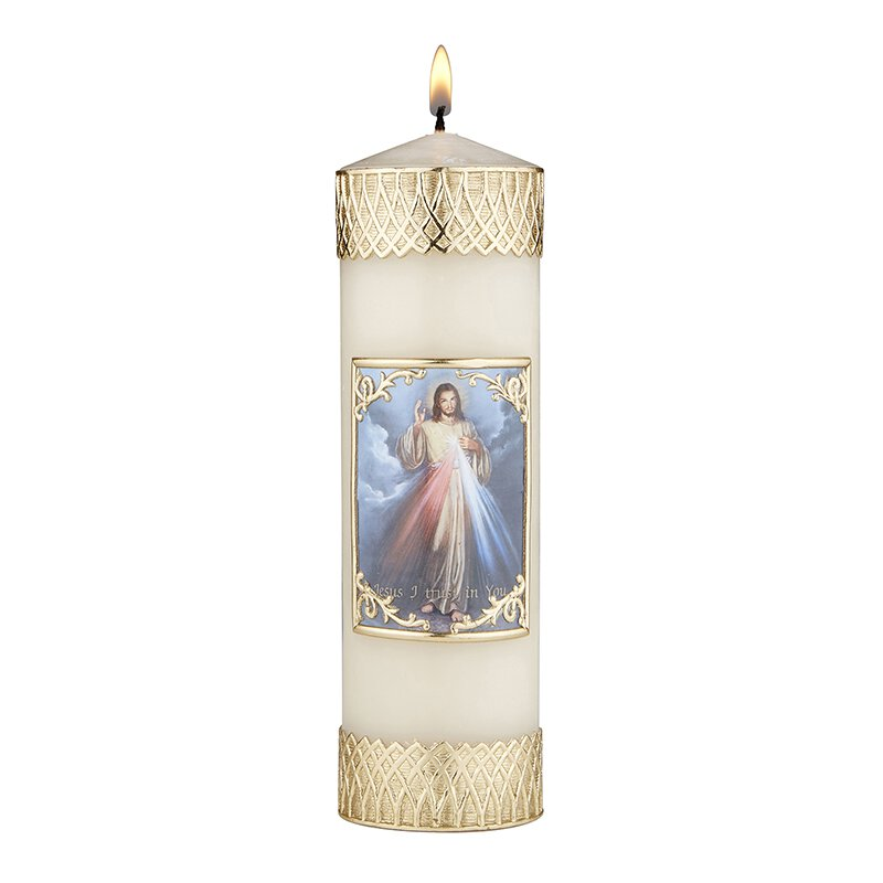 Devotional Candle - Divine Mercy