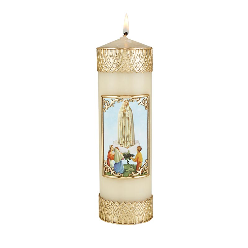 Devotional Candle - Our Lady of Fatima