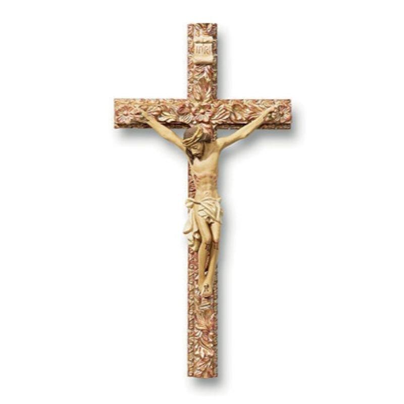 "8"" Tomaso Ornate Crucifix"