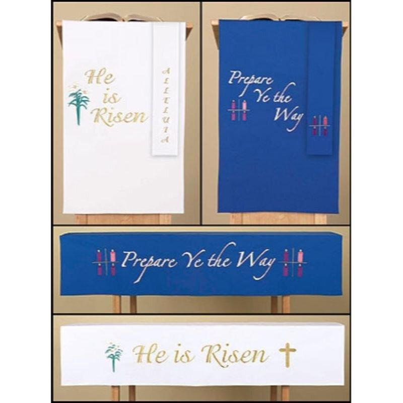 Set of 3 Reversible Holiday Paraments