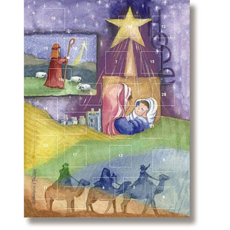 Christmas Hope Advent Calendar - 12/pk