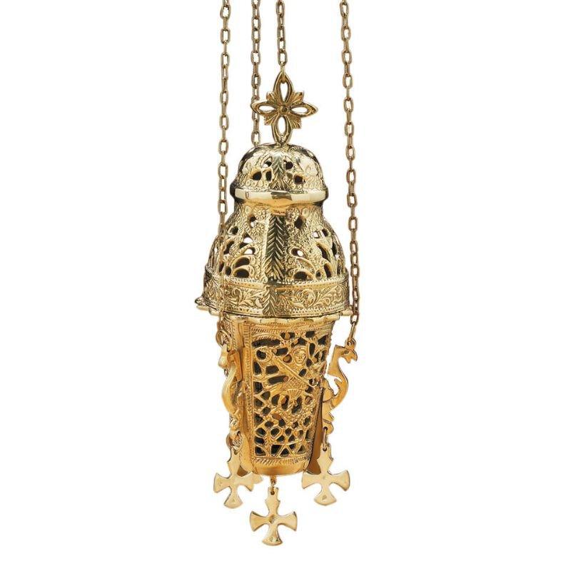 Ornate Hanging Incense Burner