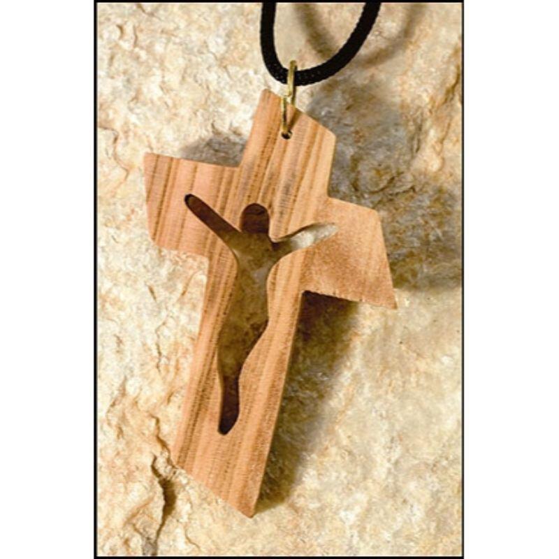 Cut-Out Crucifix Pendant