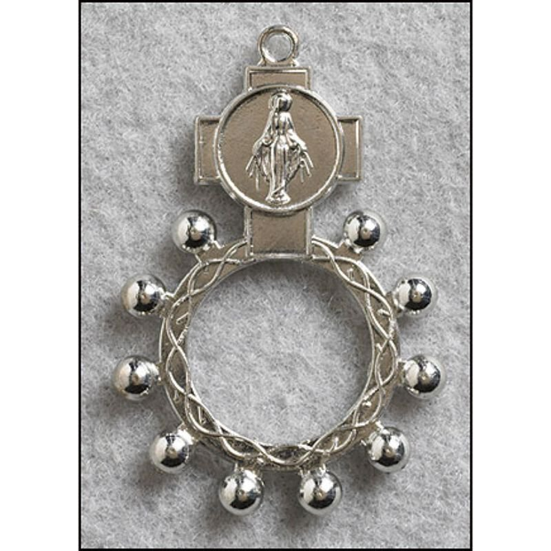 Miraculous Rosary Ring - 50/pk