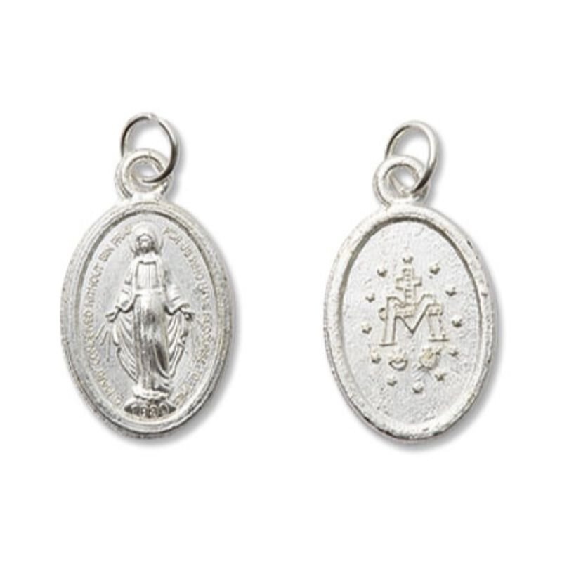 Mini Devotional Miraculous Medal - 100/pk