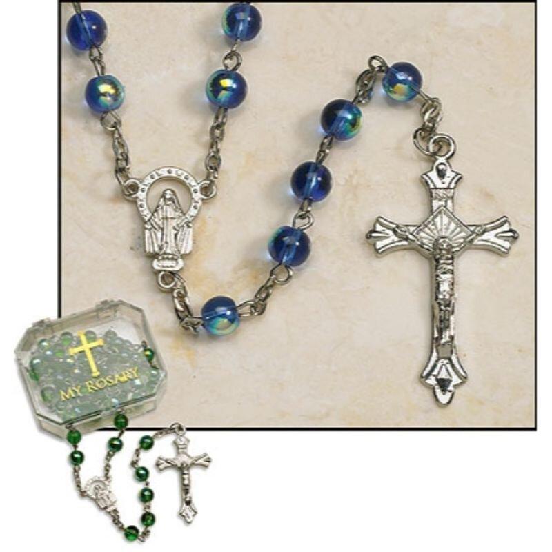 Dark Blue Rosary