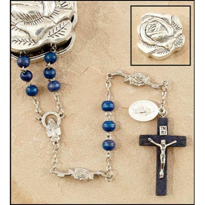 Marian Rose Petal Rosary