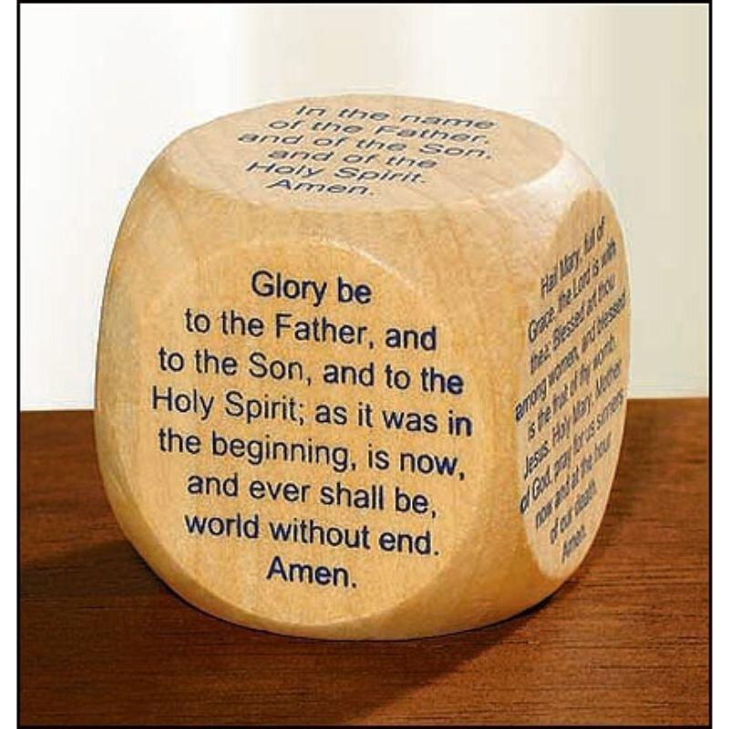 Favorite Catholic Prayers Prayer Cube™ - English