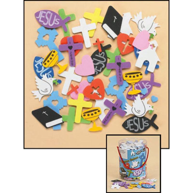 Religious Foam Sticker Assortment
