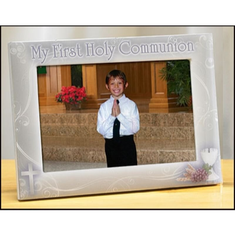 My First Holy Communion Photo Frame (Boy)