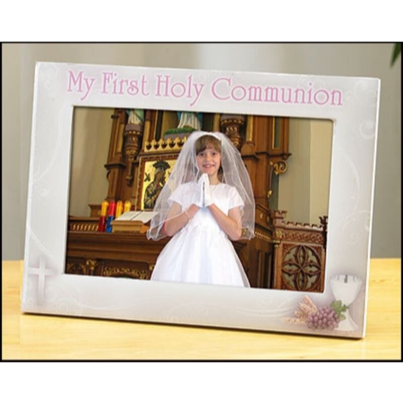 My First Holy Communion Photo Frame (Girl)