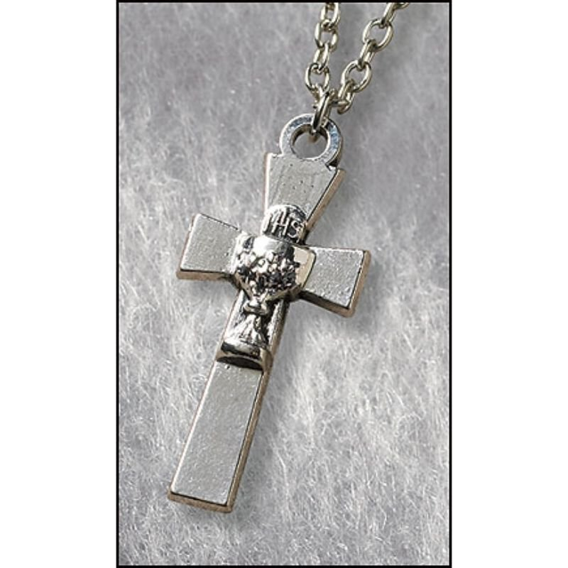 Cross with Chalice First Communion Pendant - 24/pk