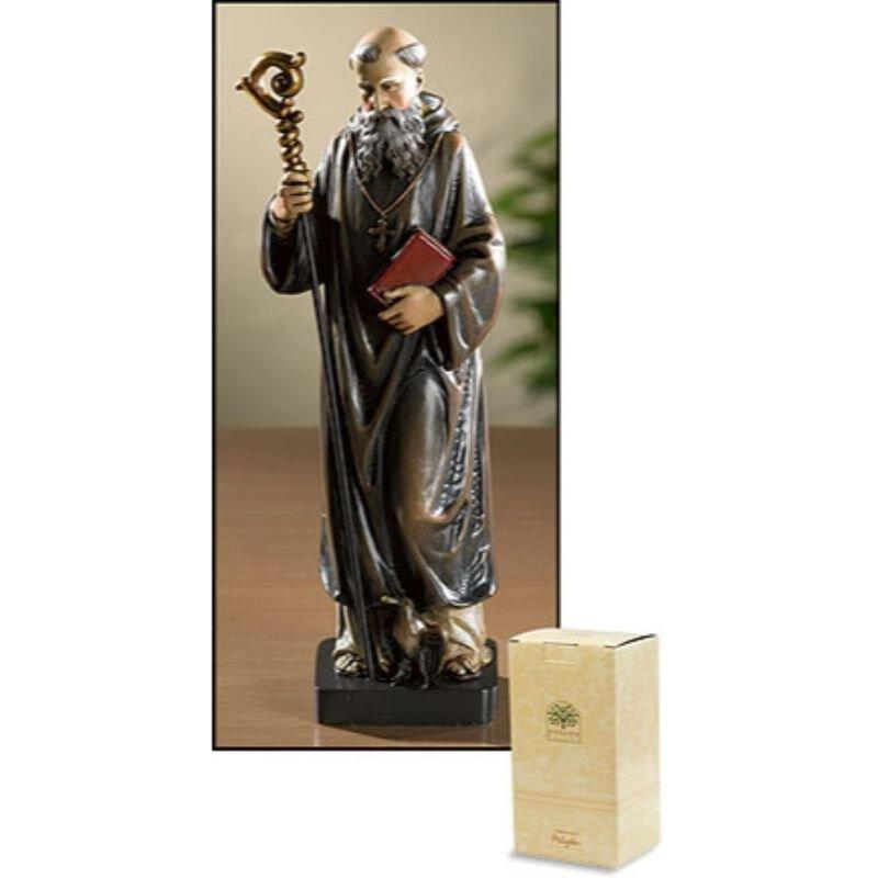 Saint Benedict Statue