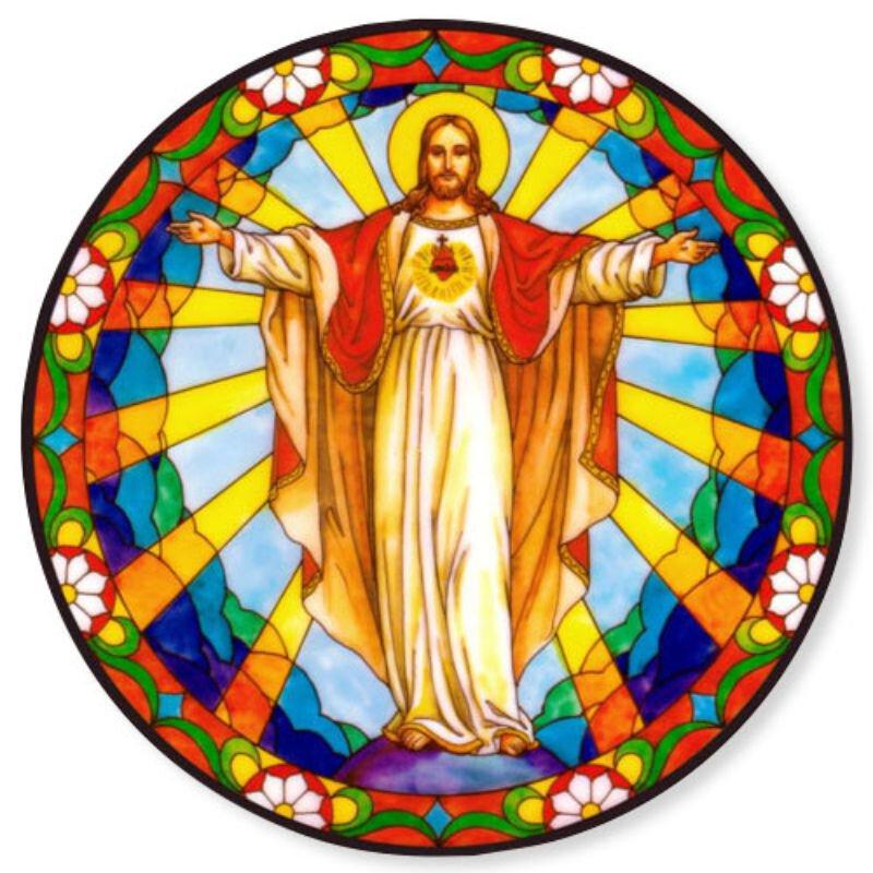 Risen Christ Static Sticker