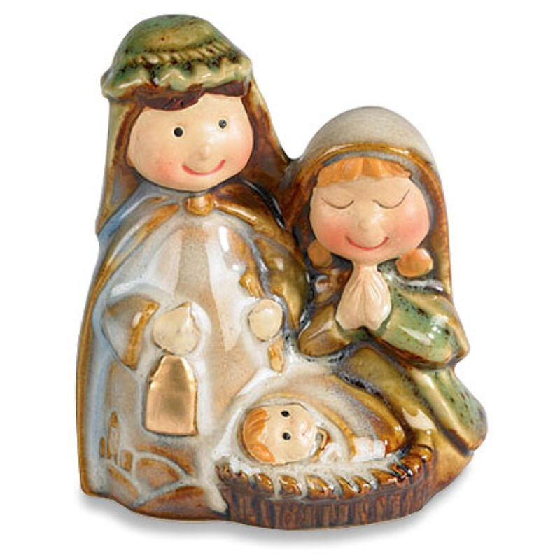 Childlike Adoring Nativity Figurine
