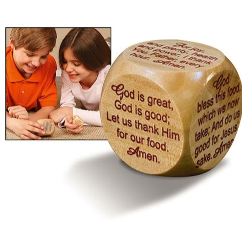 Large Prayer Cube™ - Mealtime Prayers