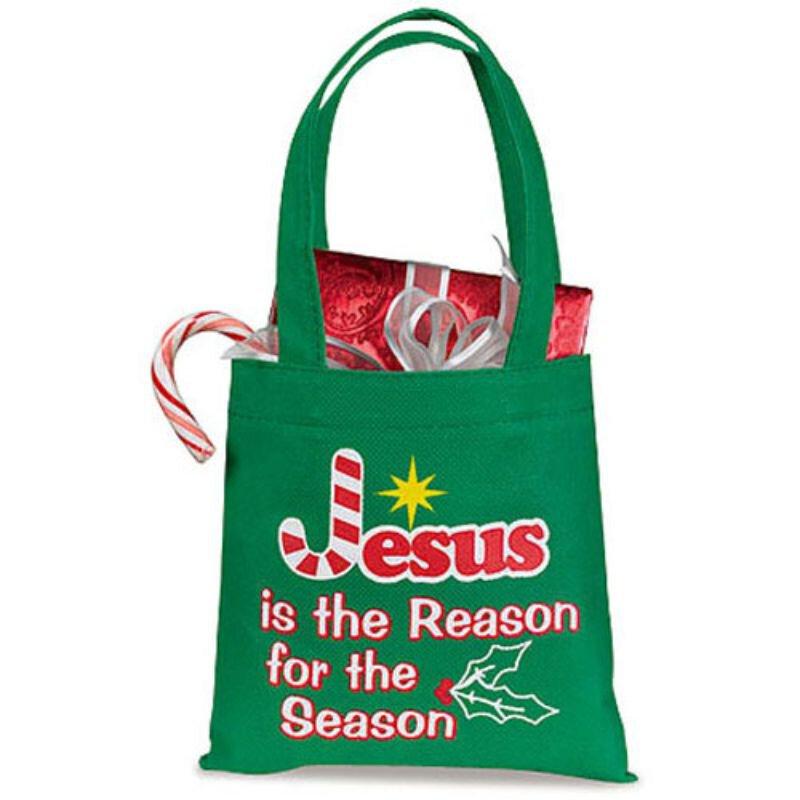 Jesus is the Reason for the Season Christmas Gift Bag