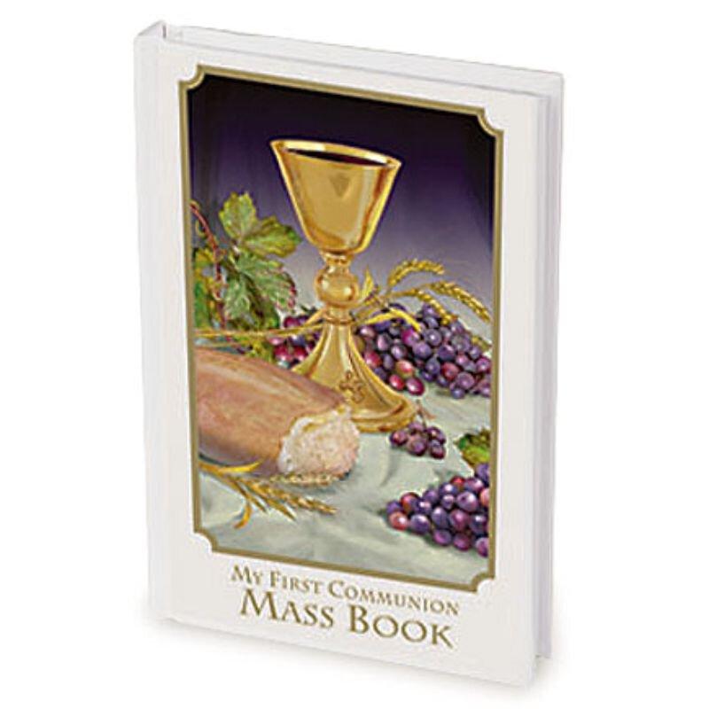 Body of Christ First Communion Mass Book - Girl