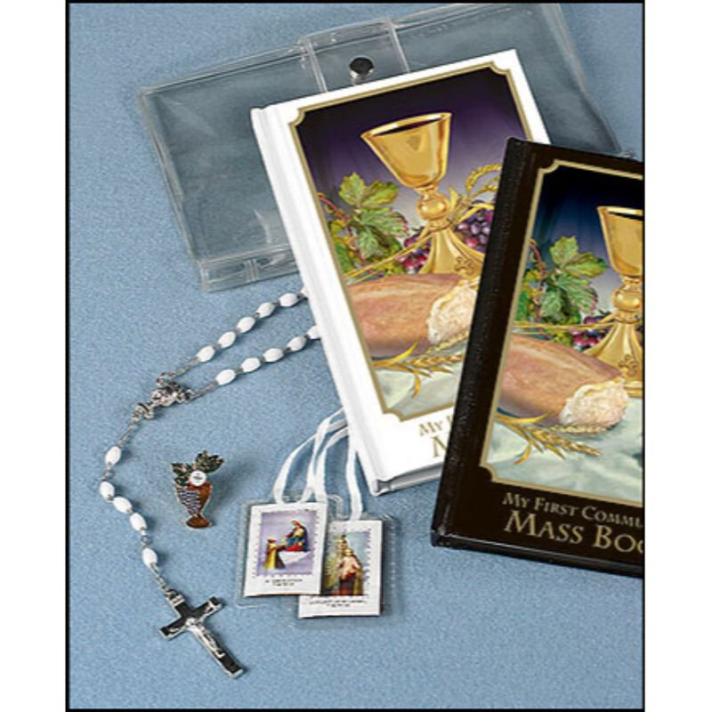 Body of Christ First Communion Wallet Set - Girl