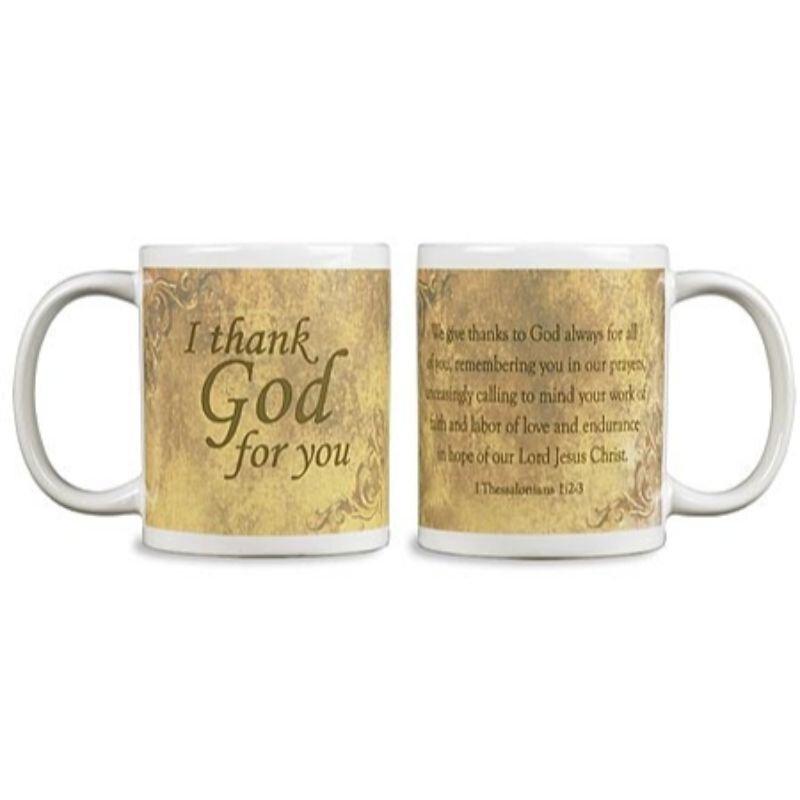 I Thank God for You Mug - 12/pk