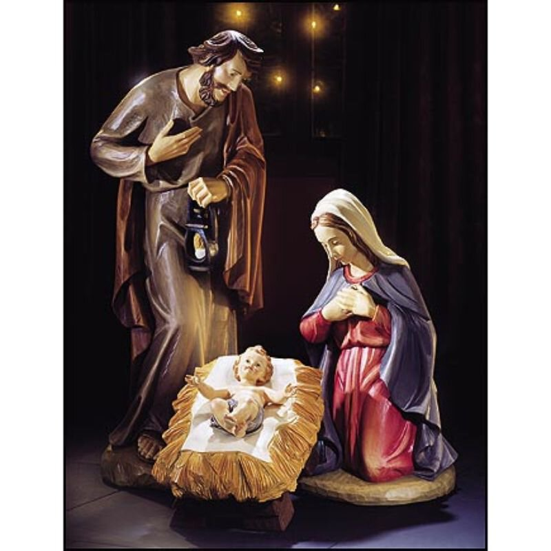 3-pc Nativity Set - 24""