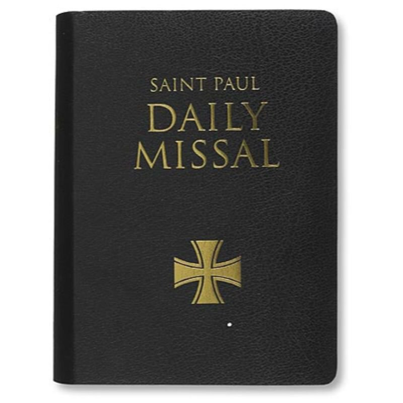 Saint Paul Daily Missal - Black