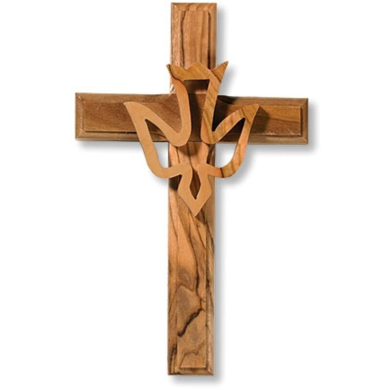 Holy Spirit Wall Cross - 2/pk