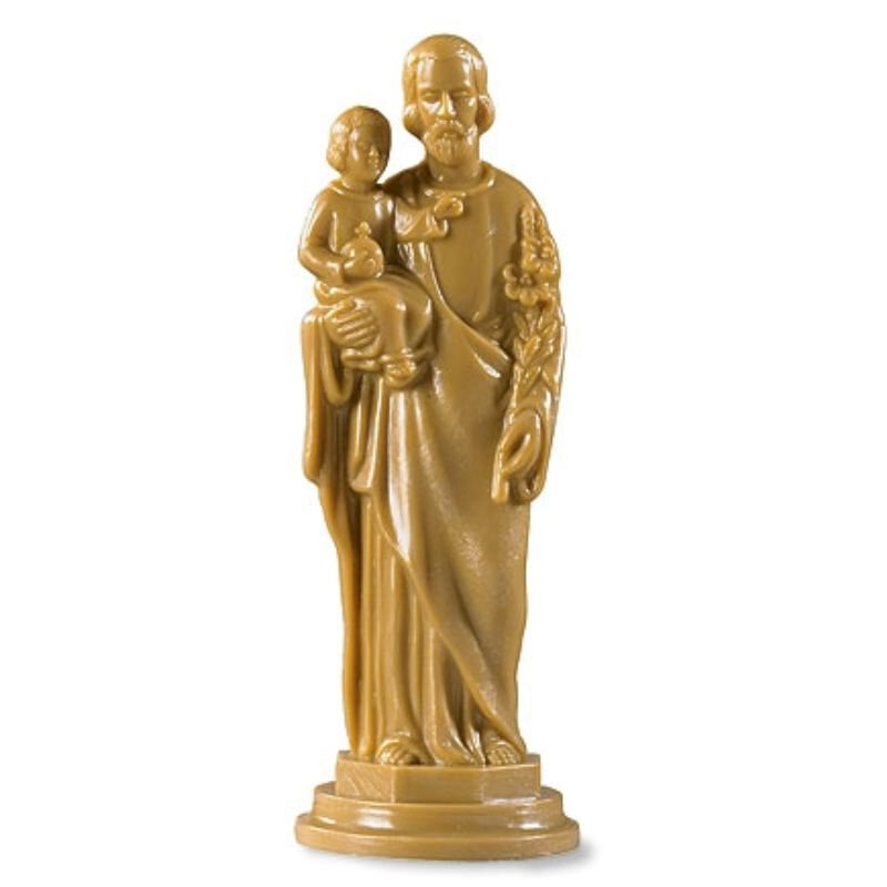 St. Joseph with Child Devotional Statue - 12/pk