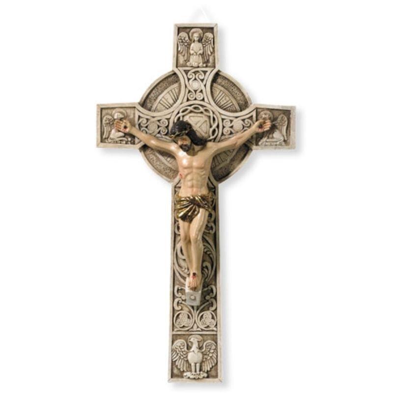 Celtic Wall Crucifix