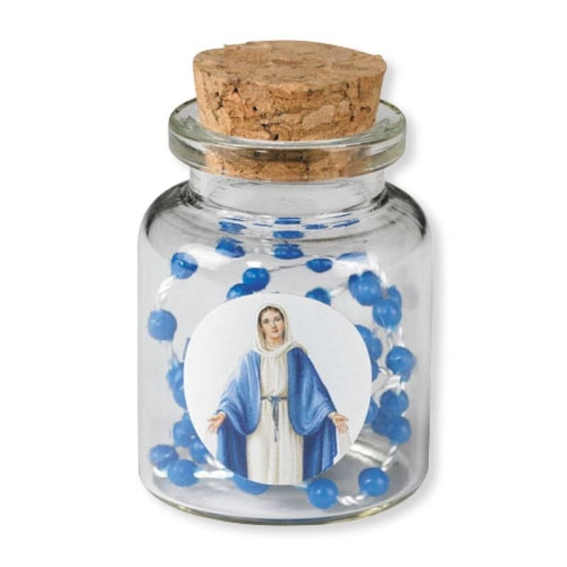Our Lady of Grace Rosary in a Bottle - 24/pk