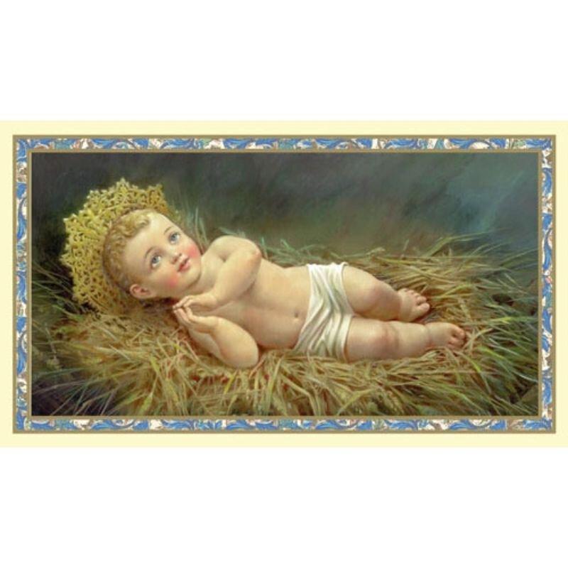 Christ Child Christmas Holy Card - 100/pk