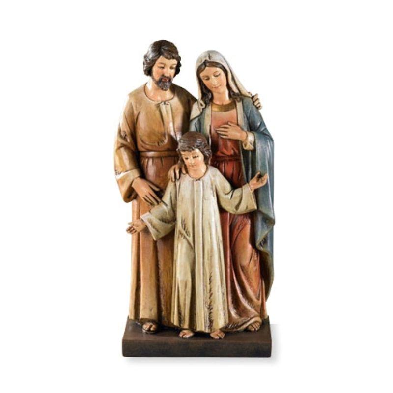 """8"""" Toscana Holy Family Statue"""