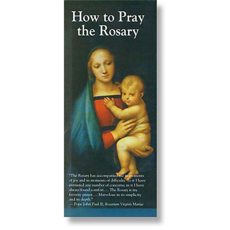 How to Pray the Rosary - 50/pk