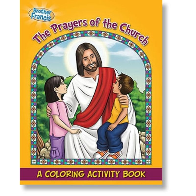 The Prayers of the Church Coloring & Activity Book