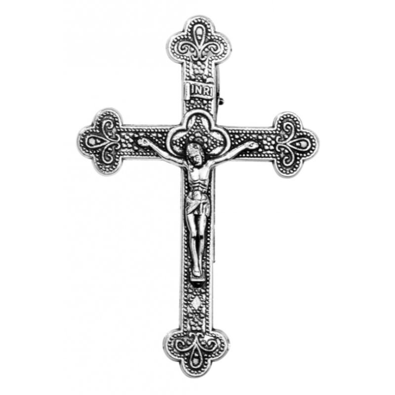 Crucifix Visor Clip - 6/pk