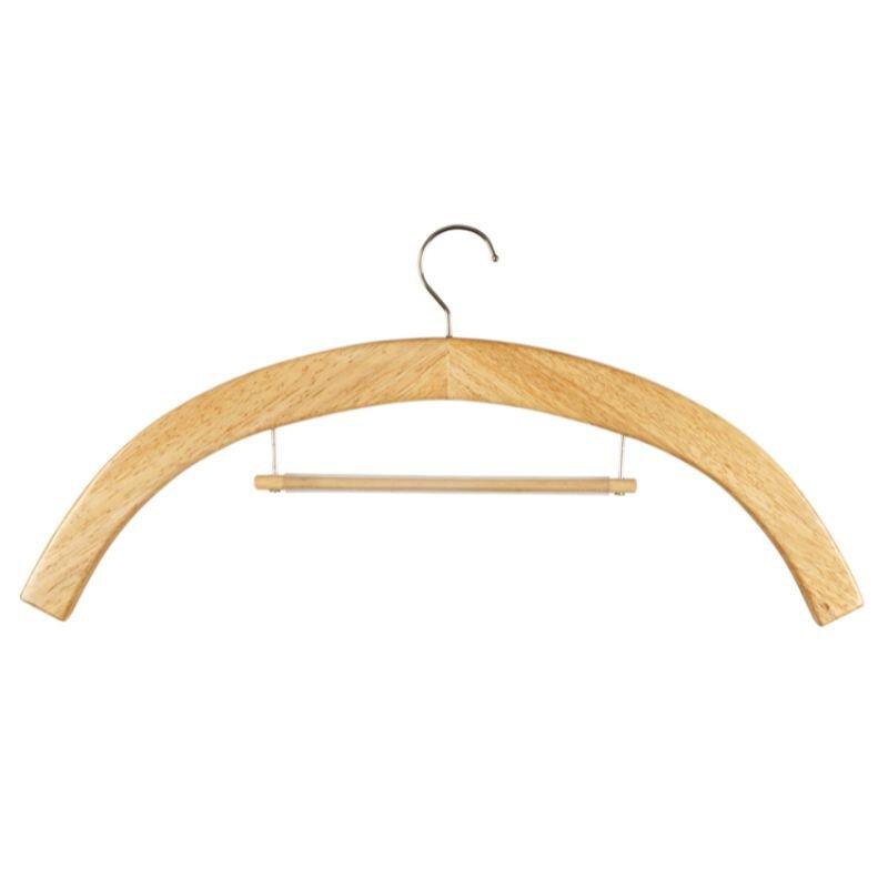 Vestement Hanger - Medium Oak - 6/pk