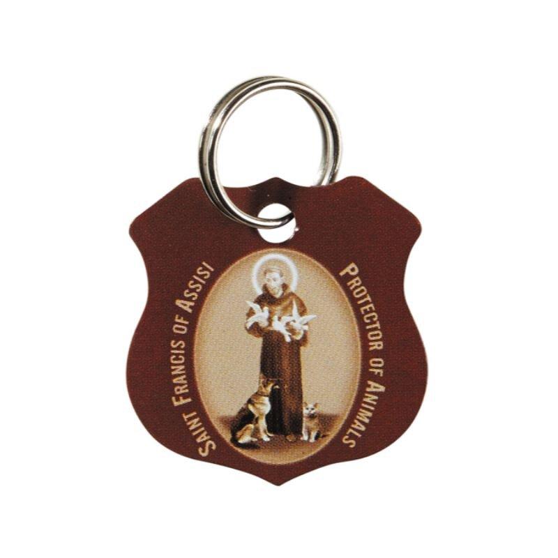 St. Francis Brown Pet Medal - 12/pk