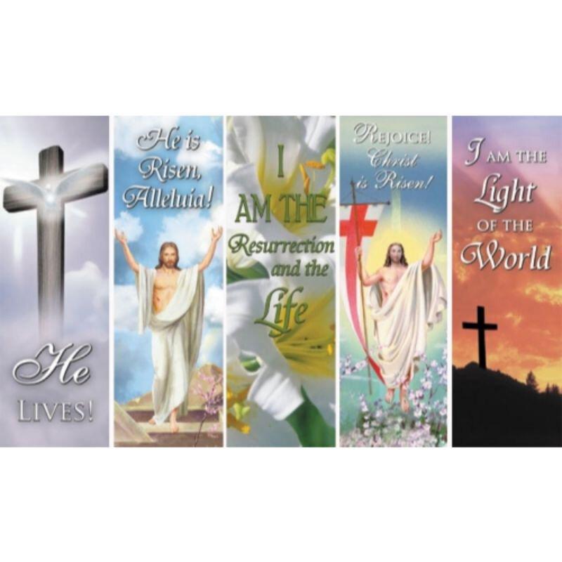 Easter Bookmark Assortment (5 Asst) - 100/pk