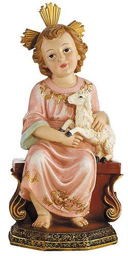 Child Jesus with Lamb Statue