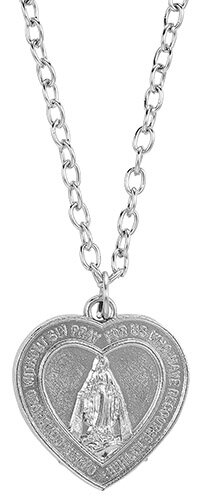 Our Father Miraculous Heart Pendant - 12/pk