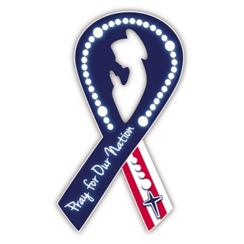 Pray for Our Nation Auto Magnet - 24/pk