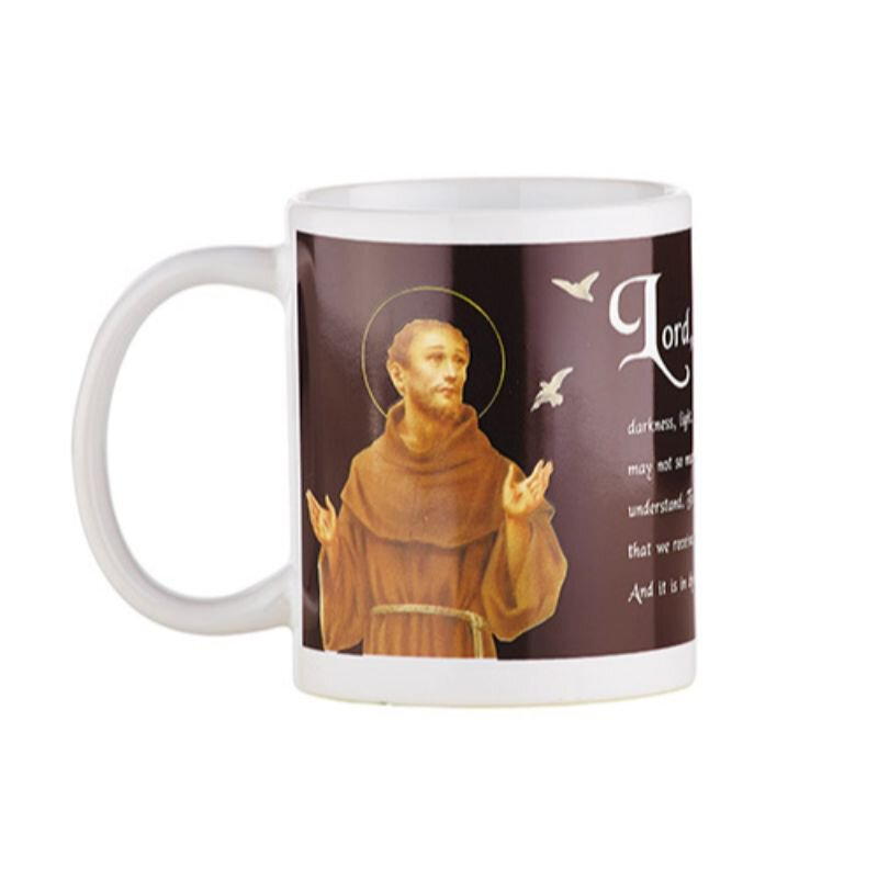 St. Francis Prayer Mug - 12/pk
