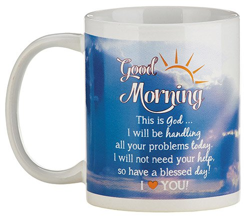 Good Morning God Mug - 12/pk