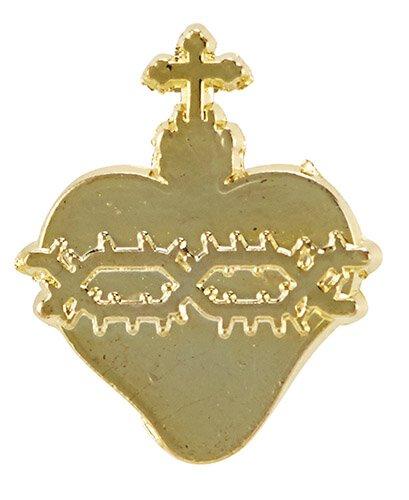 Sacred Heart Lapel Pin - 50/pk