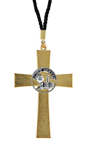 Altar Server Cross Pendant - 4/pk