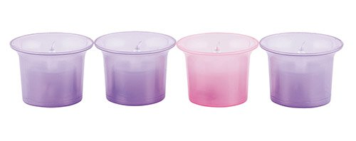 Flameless Advent Votive Set - 4 sets/pk